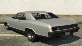 Albany Buccaneer GTA 5 Rear View