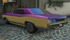 Ballas Buccaneer GTA 5 Rear
