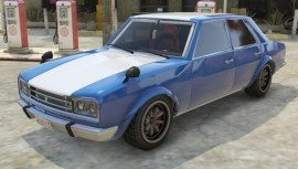Blue Stripe Vulcar Warrener Custom