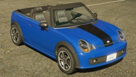 Blue Weeny Issi Front View
