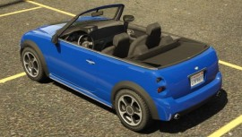 Blue Weeny Issi Rear View