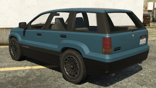 Canis Seminole GTA 5 Rear View
