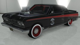 Custom Black Vapid Blade GTA 5