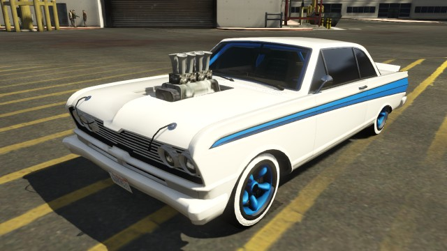 Custom Vapid Blade GTA 5 Front