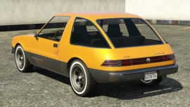 Declasse Rhapsody GTA 5 Rear View