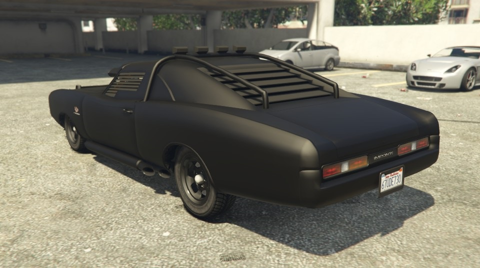 Duke O'Death GTA 5 Rear View