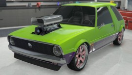Green Declasse Rhapsody Custom Modded