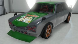 Green Vulcar Warrener Custom