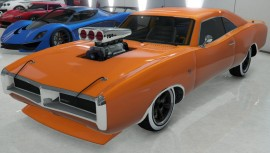 Orange Imponte Dukes With Supercharger