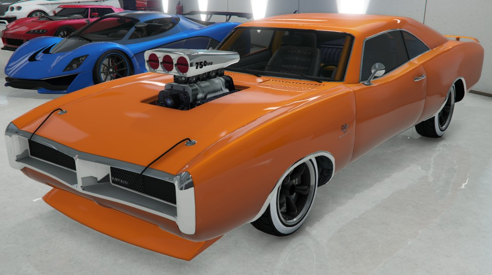 Red Imponte Dukes Gta Rear Gta Cars