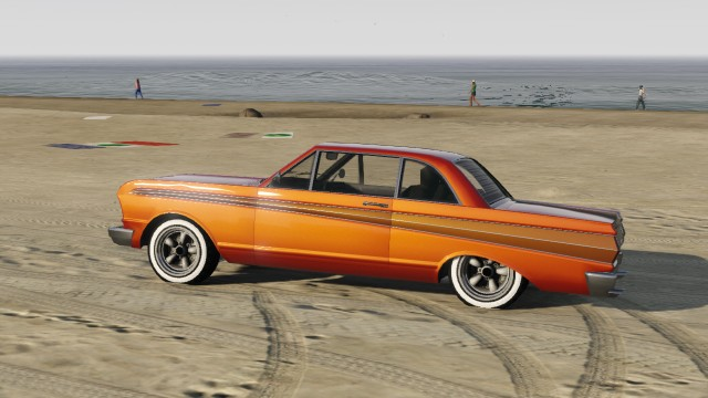 Orange Vapid Blade Custom Side