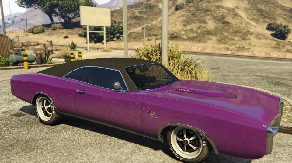 Purple Imponte Dukes GTA 5 Front