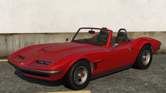 Topless Coquette Classic GTA 5 Front