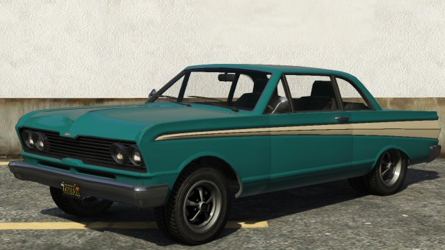 Vapid Blade GTA 5 Front View