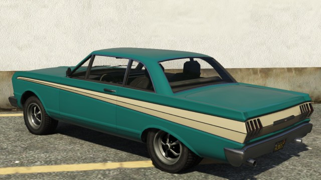 Vapid Blade GTA 5 Rear View
