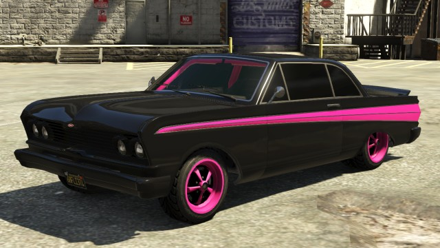 Vapid Blade Modded GTA 5
