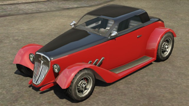 Vapid Hotknife GTA 5 Front View
