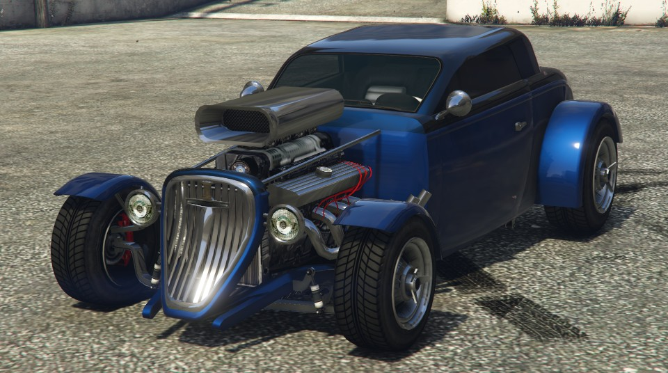 Blue Vapid Hotknife GTA 5