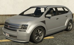 Vapid Radius GTA 5 Front View