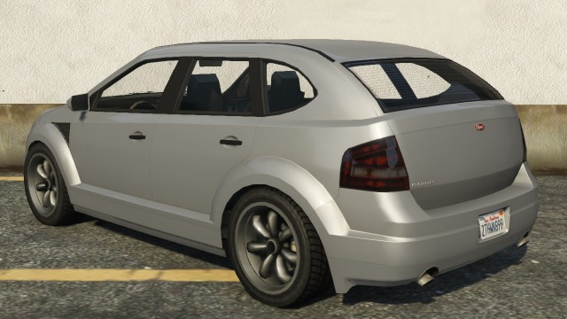 Vapid Radius GTA 5 Rear View