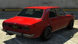Vulcar Warrener GTA 5 Rear