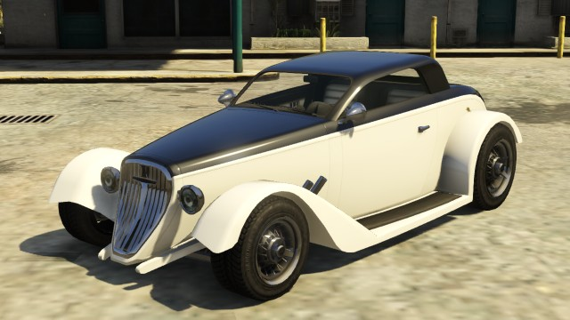 Vapid Hotknife GTA 5 with stock hood and fenders