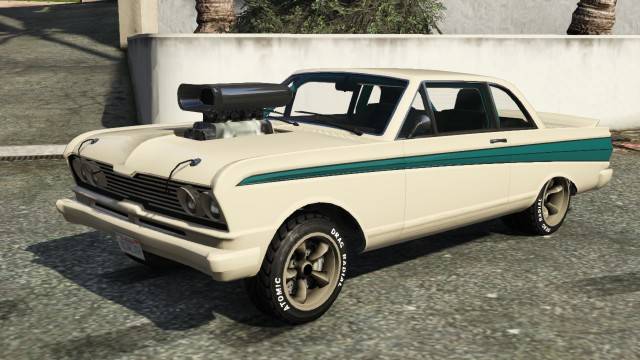 White Vapid Blade Custom