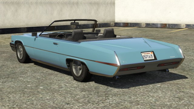 Albany Manana GTA 5 Convertible Rear View