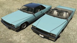 Albany Manana Hardtop and Convertible GTA 5