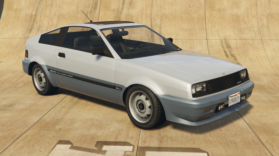Blista Compact GTA 5 Front View
