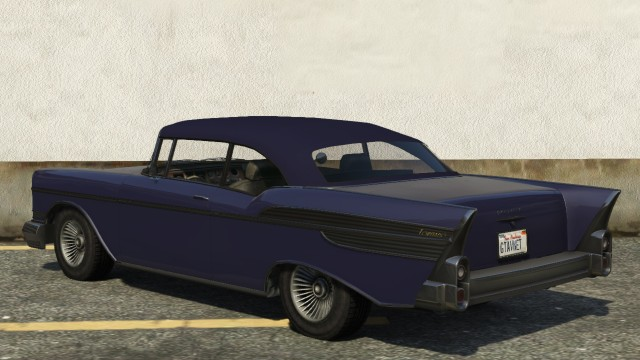 Declasse Tornado GTA 5 Convertible Rear View