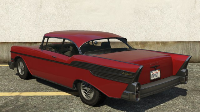 Declasse Tornado GTA 5 Hardtop Rear View