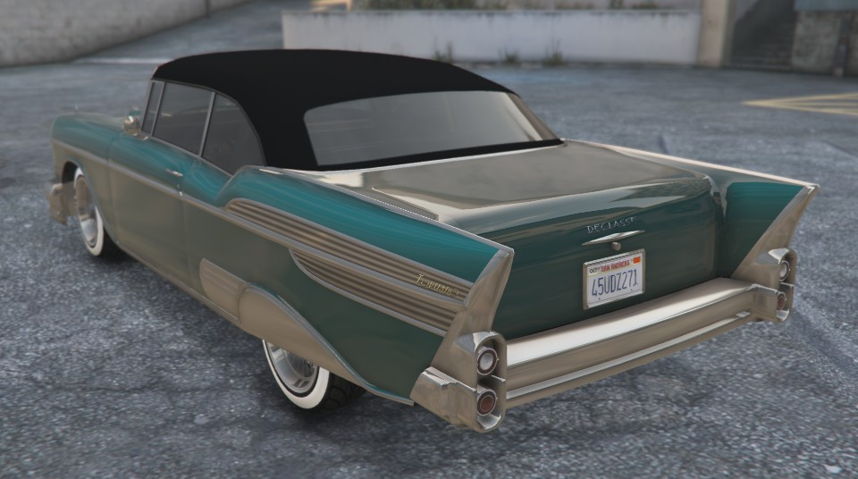 Declasse Tornado GTA 5 Rear View
