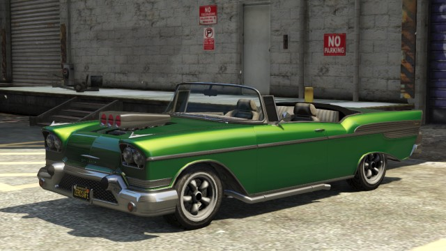 Green Declasse Tornado Custom Modded