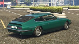 Green Lampadati Pigalle Rear View