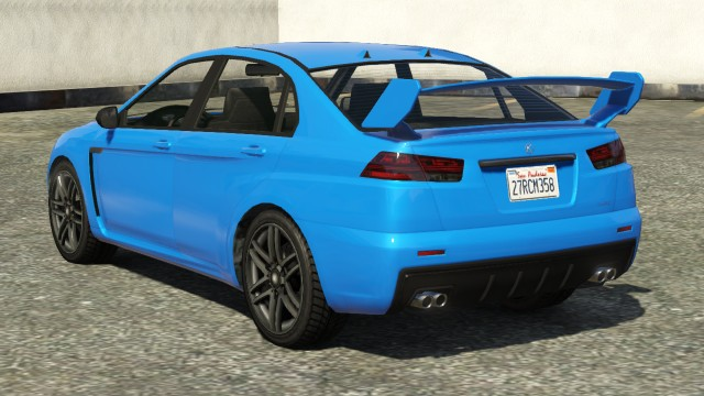 Karin Kuruma GTA 5 Online Rear View