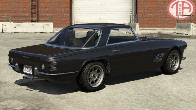 Lampadati Casco Hardtop GTA Online Rear View