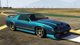 Metallic Blue Imponte Ruiner GTA 5
