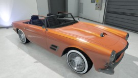 Orange Lampadati Casco Topless
