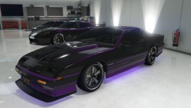 Purple Imponte Ruiner Modded with Neon
