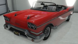 Red Declasse Tornado Convertible Custom