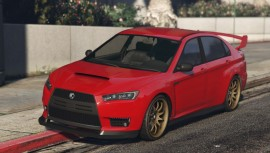 Red Karin Kuruma GTA Online