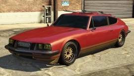 Red Lampadati Pigalle GTA 5 Front