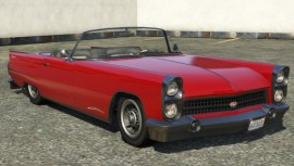 Vapid Peyote Convertible GTA 5 Front View