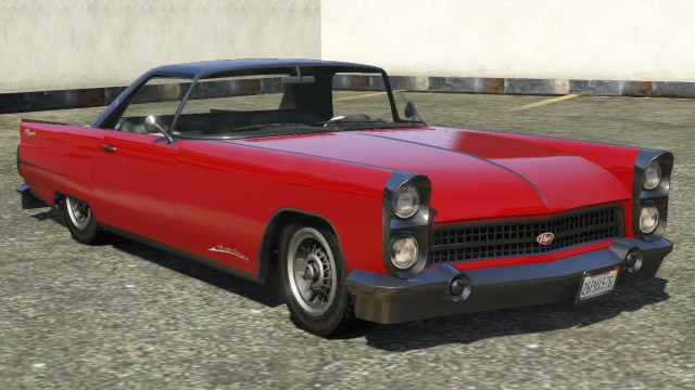 Vapid Peyote Hardtop GTA 5 Front View