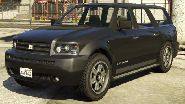 Black Dundreary Landstalker GTA 5 | GTA 5 Cars