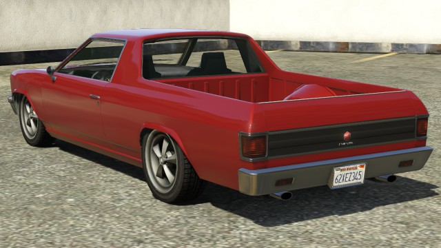 Cheval Picador GTA 5 Rear View