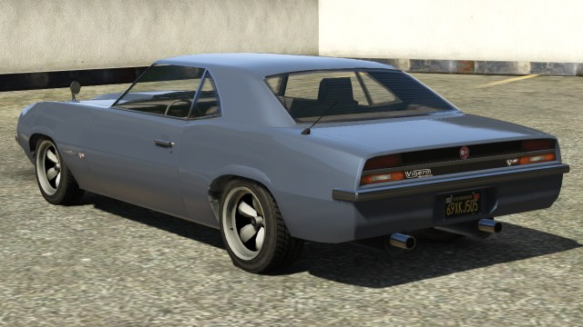 Declasse Vigero GTA 5 Rear View