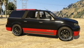 Dundreary Landstalker Customized GTA 5 Front