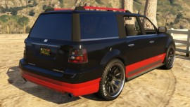 Dundreary Landstalker Customized GTA 5 Rear